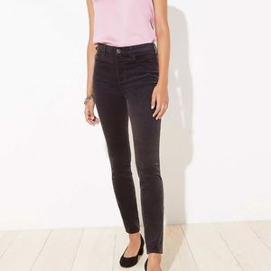 LOFT Pants - LOFT Curvy Skinny Corduroy Stretch Pants